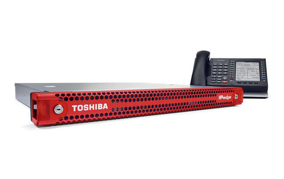 Toshiba telephone equipment